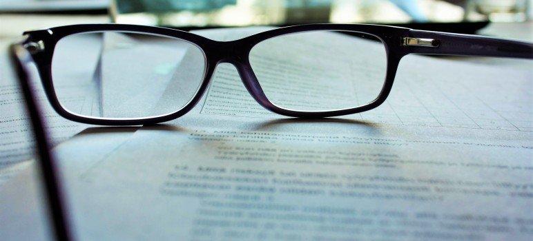 Photo Black Reading Glasses
